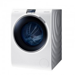 Lavadora WW9000H con puerta Big Crystal Blue, 10 kg
